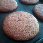 Chewy Gingerbread Cookies (gluten free)